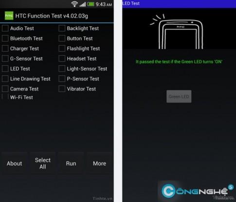 Thủ thuật kiểm tra chức năng của smartphone Samsung, LG, HTC, Sony, Sky (kì 2)