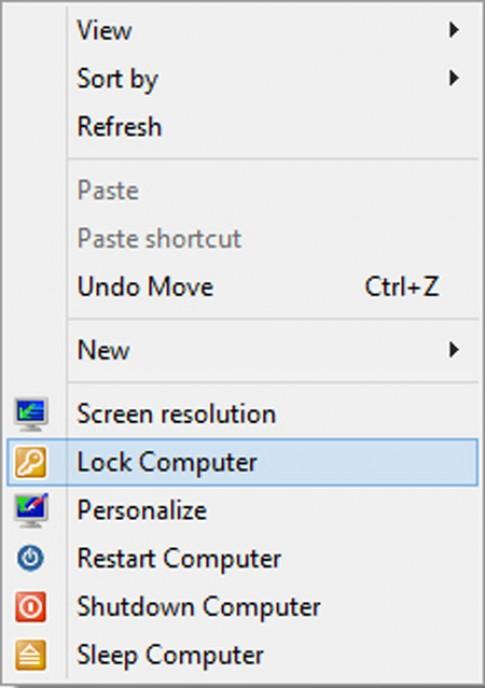 Thủ thuật Windows 8 - Tắt máy tính từ menu chuột phải