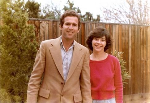 Tình yêu sét đánh của cựu Tổng thống George W.Bush