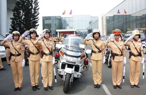 Tổng hợp các xe khủng của CSGT Việt Nam