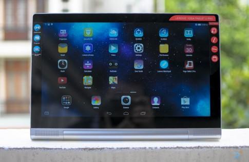 Tren tay YOGA Tablet 2 Pro - Chiec may tinh bang 'khong lo'