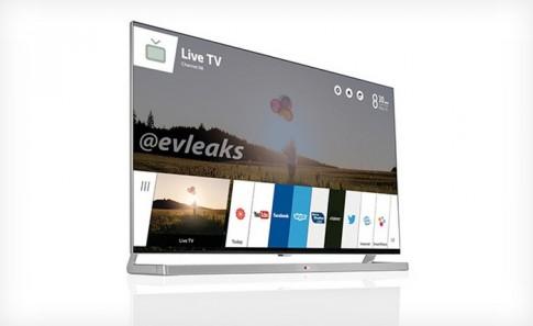 TV dùng WebOS của LG lộ diện, dùng được cả Facebook và YouTube