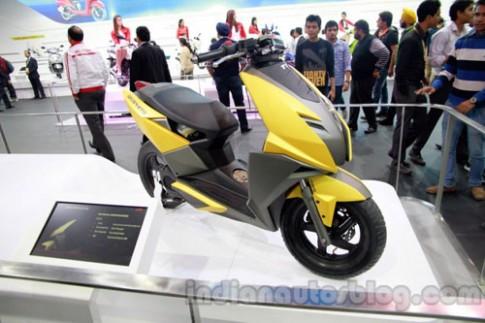 TVS Graphite concept - Scooter phong cách máy bay tàng hình