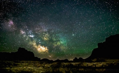 Vài ảnh về trời đêm đầy sao, đẹp lung linh