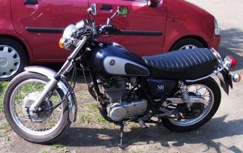 Vẻ đẹp Yamaha SR500