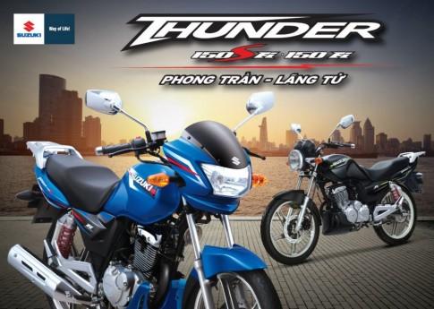[Việt Nam] Suzuki Thunder 150 Fi sắp được ra mắt