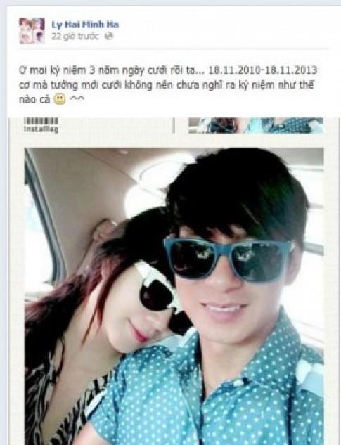 Vợ chồng Lý Hải - Minh Hà kỷ niệm 3 năm ngày cưới