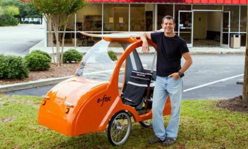 Xe đạp điện E-Fox: Đẹp, lạ và tiết kiệm