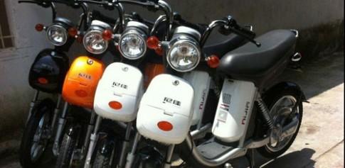 Xe đạp điện sẽ được dán tem đạt chuẩn
