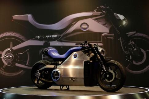 Xe máy điện Wattman 200 mã lực vừa được Voxan giới thiệu