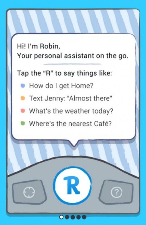 Xin chào! Tôi là Robin. Em của Siri.
