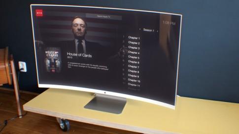 Ý tưởng thiết kế chiếc Apple HDTV cong tuyệt đẹp