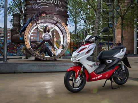 Yamaha Aerox 50 - Mang dáng vẻ mạnh mẽ của dòng PKL