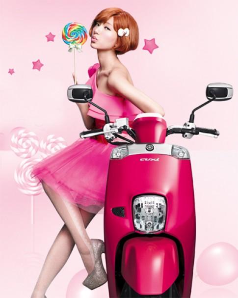 Yamaha Cuxi với mẫu thiết kế mới 2014