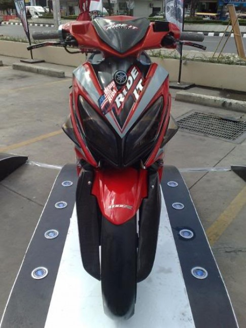 Yamaha nouvo LX phiên bản rade it