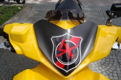 Yamaha Nouvo LX sinh tố xoài