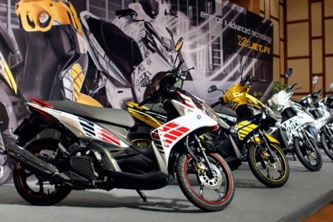 Yamaha ra mắt loạt xe mới tại Việt Nam