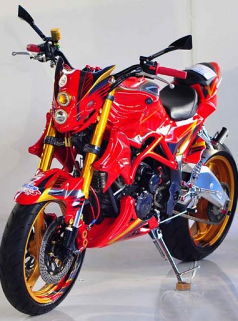 Yamaha Scorpio - Phong cách Streetfighter