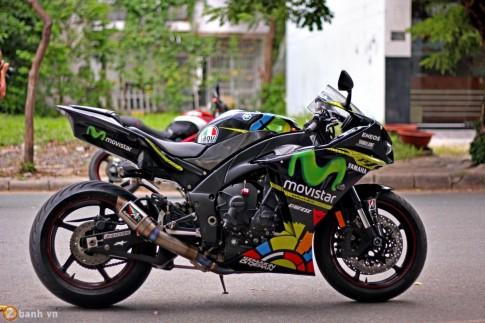 Yamaha YZF-R1 phiên bản Movistar
