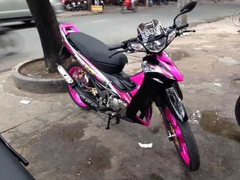 Yamaha Z125 306 đen hồng xinh tươi