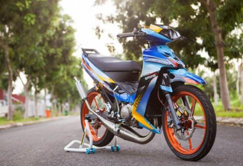 Yamaha Z125 ca map ho manh me ham ho tai Soc Trang