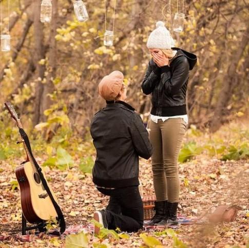 26 khoảnh khắc cầu hôn vỡ òa hạnh phúc