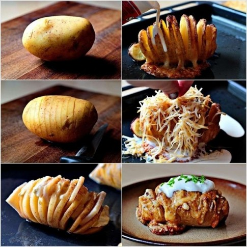 5 cách làm khoai tây nướng thơm ngon hấp dẫn