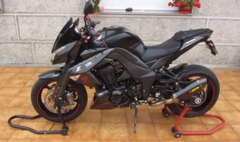 Ấn tượng mạnh với Kawasaki Z1000 carbon