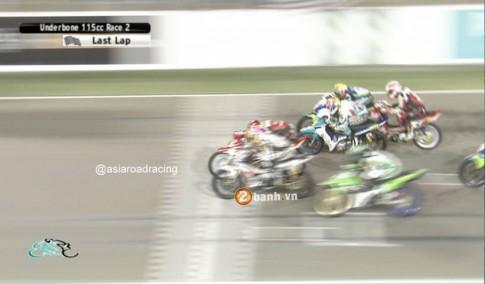 Asia Road Racing Championship - hơn nhau lúc về đích 0.006 giây