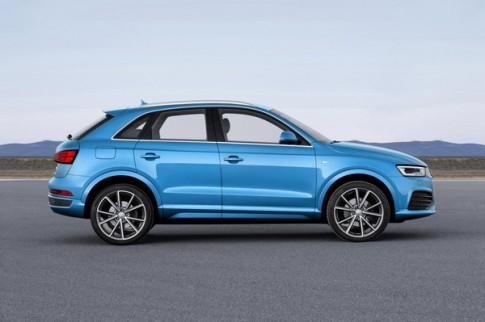 Audi Q3 2015 sẽ cải tiến công nghệ và động cơ?