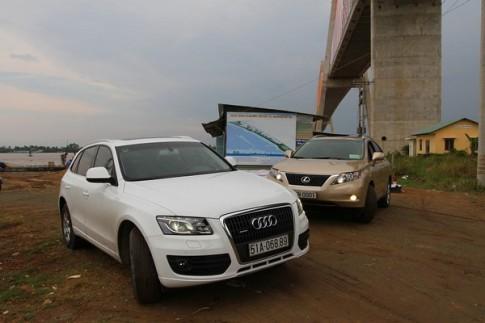 Audi Q5 đọ sức cùng Lexus RX350