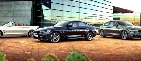 BMW tung ảnh chính thức 4-Series Gran Coupe