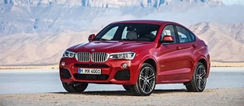 BMW X4 chính thức bước ra ánh sáng