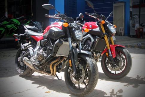 Bộ đôi nakedbike Yamaha FZ 2015 đầu tiên tại Việt Nam