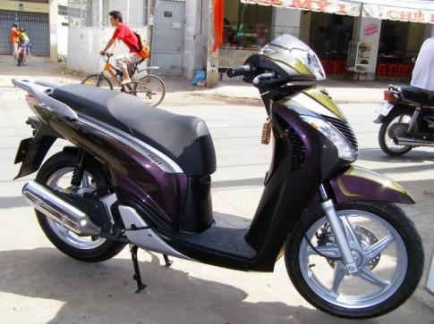 Bộ sưu tập Honda SH màu độc