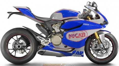 Body handmade của Ducati 1199