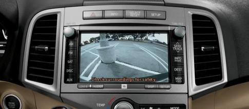 Camera lùi ngăn ngừa va chạm tốt hơn cảm biến