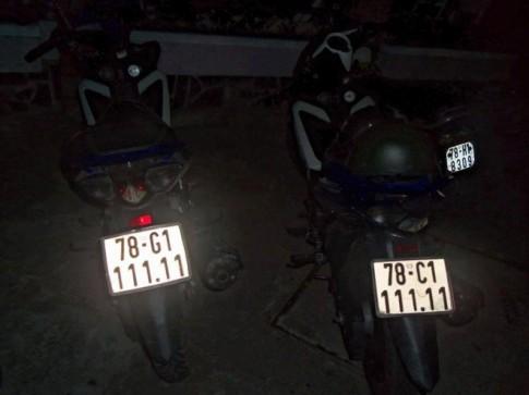 Cặp đôi Yamaha Exciter biển số ngũ quý 1 ở Phú Yên