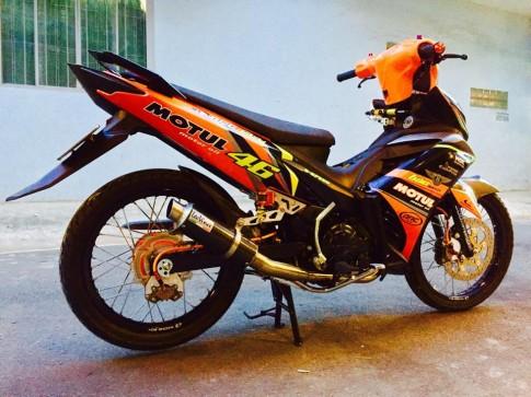 Chiec EX do cam KTM do hang sieu khung