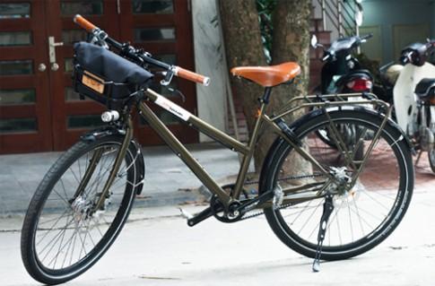 Chiếc xe đạp giá gần 100 triệu đồng tại Hà Nội