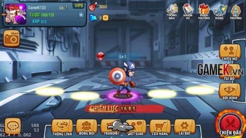 Chơi thử game Siêu Nhân Đại Chiến trước ngày ra mắt