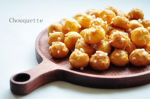 Chouquette - món bánh tí hon ai cũng mê