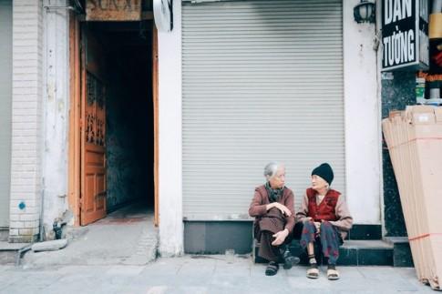 Chùm ảnh: Yêu dấu và êm đềm những sáng chớm đông Hà Nội