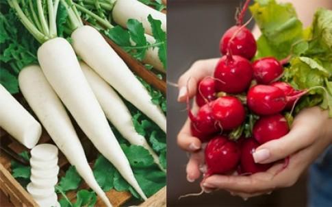 Củ cải - bí quyết trắng da của phụ nữ Nhật