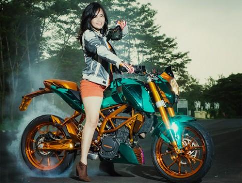 Cùng ngắm biker nữ đến từ Malaysia
