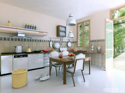 Đặt bếp theo phong thủy: Những điều nên và không nên