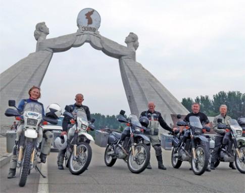 Đoàn phượt đi xuyên Triều Tiên