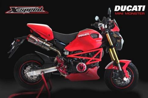 Ducati Monster độ cho trẻ em bên Malaysia
