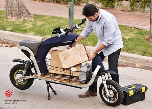 Equs Cargo xe điện 'đẹp' và 'lạ'