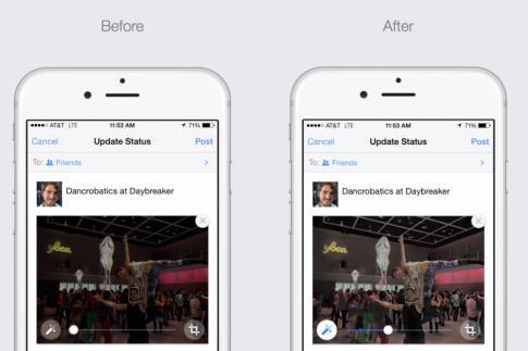 Facebook nâng cao chất lượng ảnh trên iOS